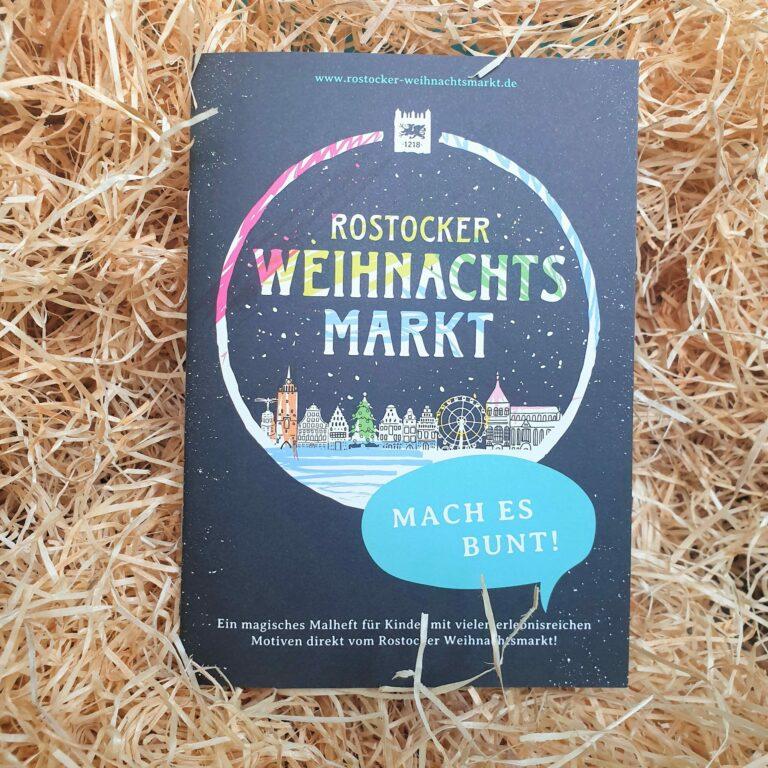 Malheft Rostocker Weihnachtsmarkt