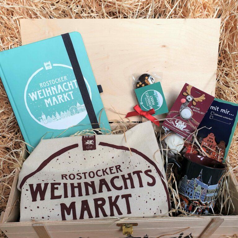 Geschenkkiste Rostocker Weihnachtsmarkt 1